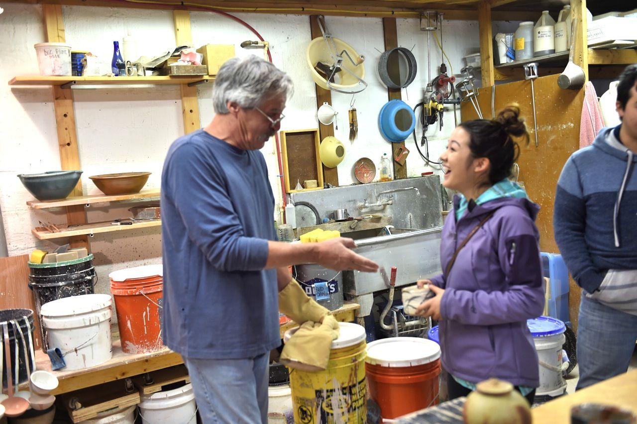 John Canan Mudslinger Pottery Maker Bill Van Gilder