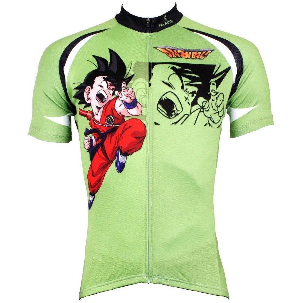 Men Cycling Jersey Anime Dragon Ball Z Son Goku  e60794870