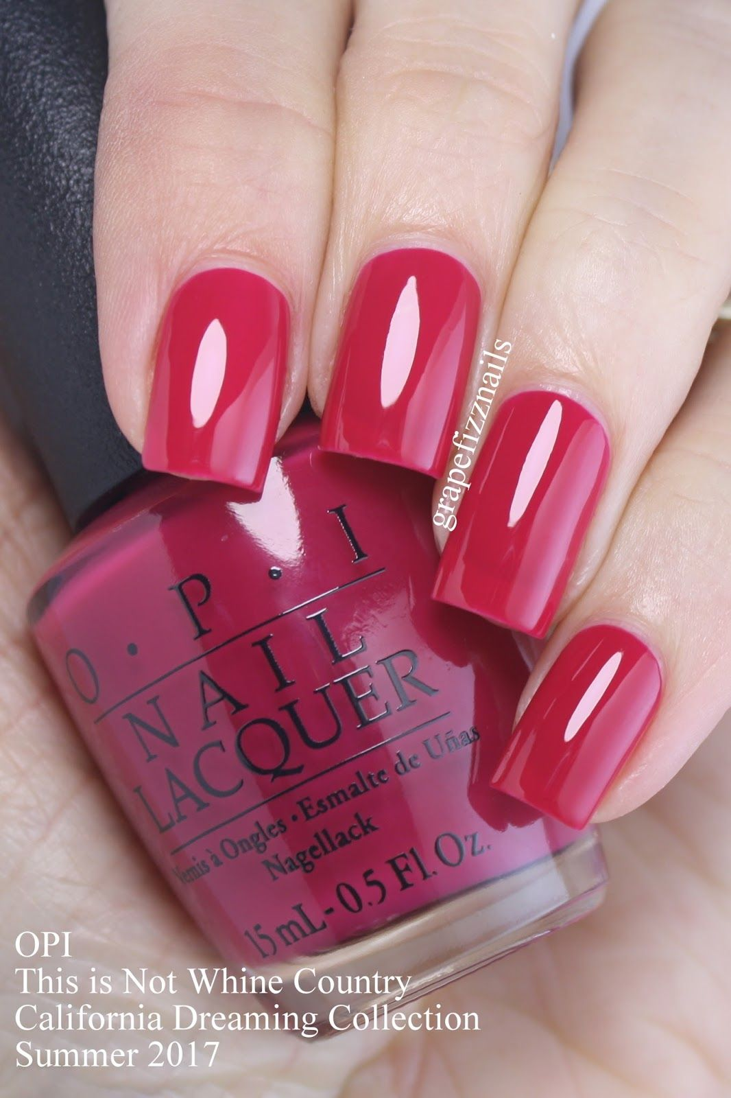 OPI - This is Not Whine Country http://scarlettavery.com/ | nails ...