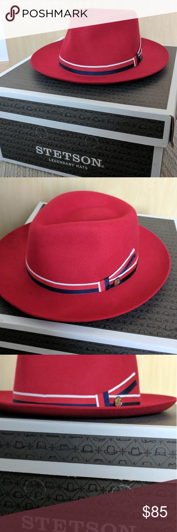 107f80ca Stetson Aviatrix (Agent Carter) hat. NWOT IN BOX Red, Stetson Aviatrix, as  seen on Agent Carter. NWOT,in Stetson box, size: Large Stetson Accessories  Hats
