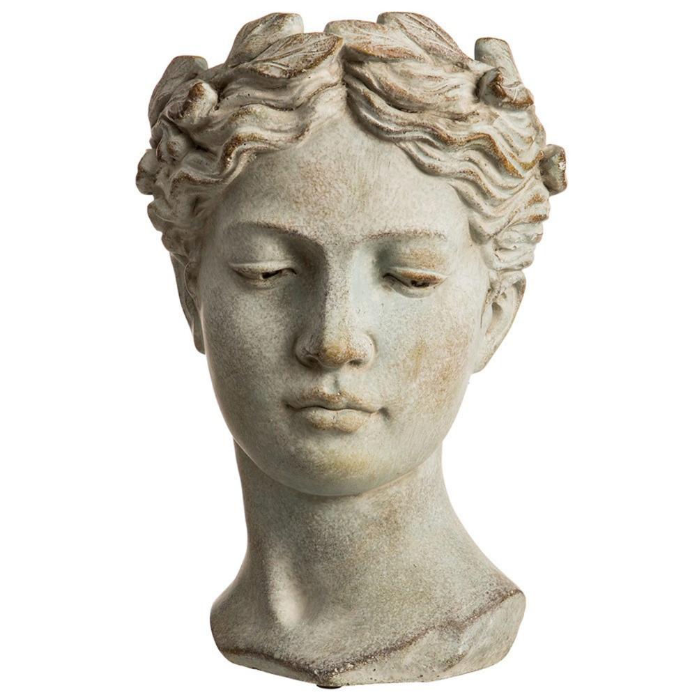 Roman Venus Cement Bust Vase 2 Sizes Howell S Home Floral Greek Statues Portrait Sculpture Classic Sculpture