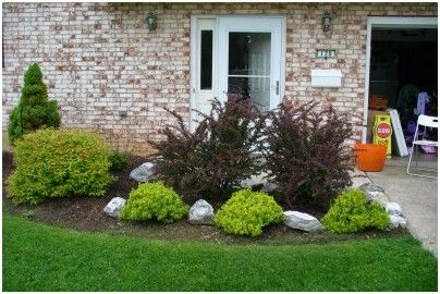 Small Front Yard Landscaping Ideas Townhouse Home Design