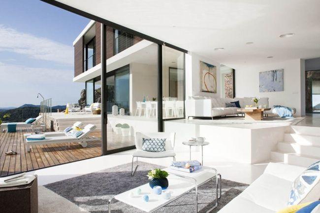 30 maisons modernes avec des grandes baies vitrées | Carreaux de ...