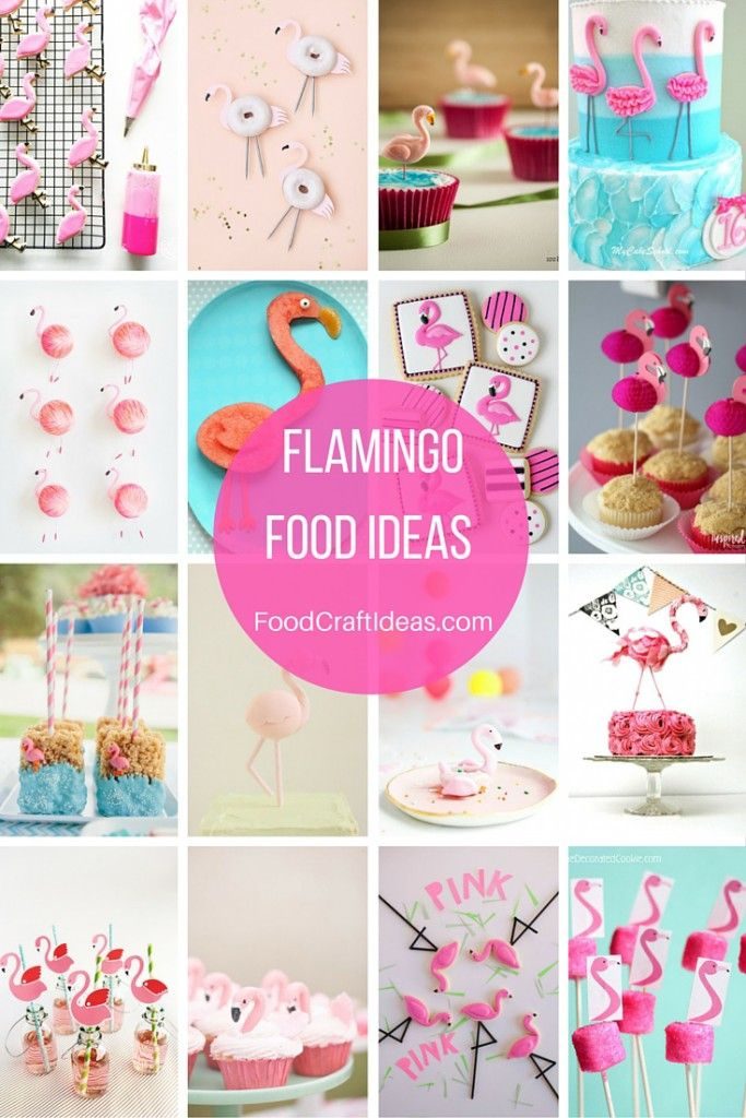 12 Flamingo Cocktail Sticks Cake Buffet Party Topper Decorations