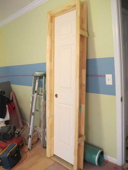 Diy How To Install A Door Homeowners Who Aren T Afraid Of Nail Guns Can Tackle Their Own Pre Hung Door Pro Diy Interior Doors Prehung Interior Doors Diy Door