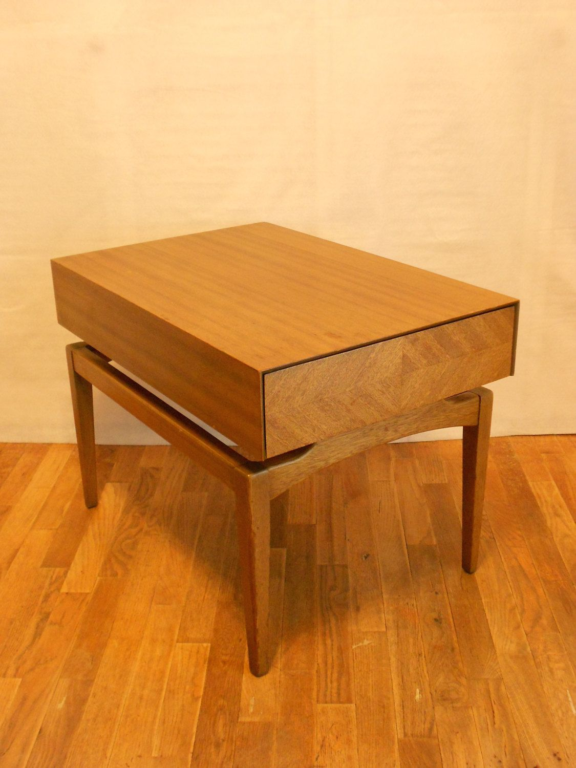 Mahogany Side Tables By John Keal For Brown Saltman Pair By SkieShop On  Etsy Https