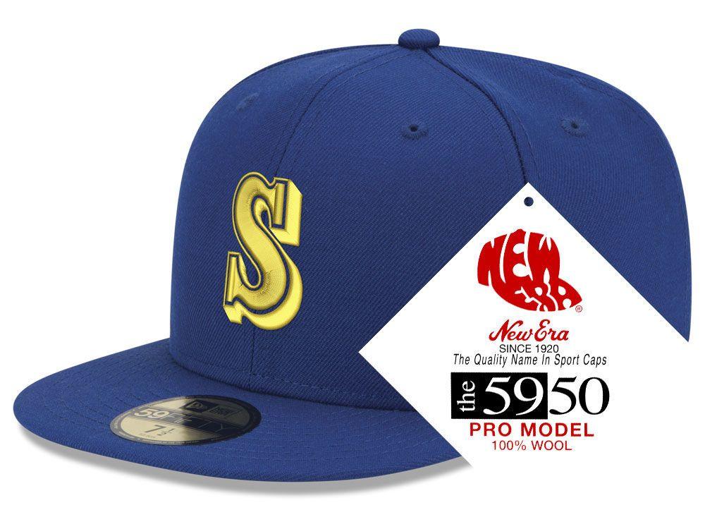 save off c6e3c 2fb64 Seattle Mariners New Era MLB Retro Classic 59FIFTY Cap