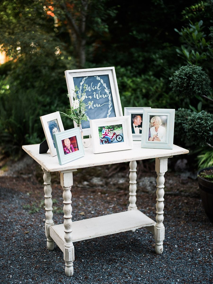 Wish You Were Here Memorial Table For Your Wedding Day L