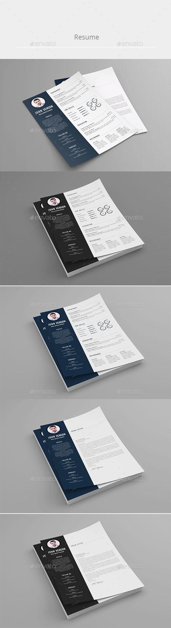 Resume template(John Stevenson 2) - #Resumes Stationery Download ...
