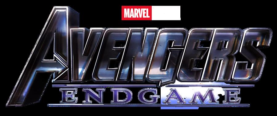 Avengers Endgame (2019) logo png 1 by https//www