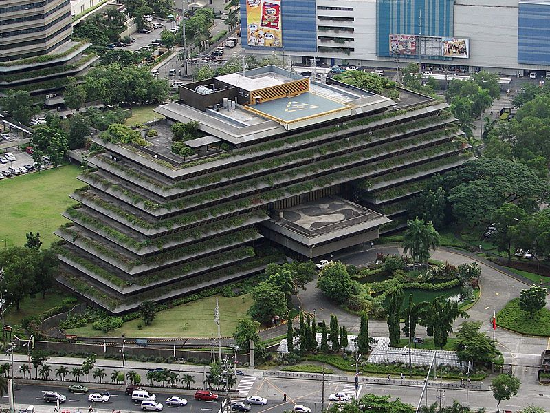 4 san miguel corporation building by francisco bobby for Filipino landscape architects
