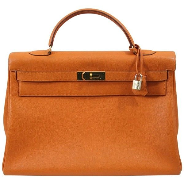 Hermès Pre-owned - Kelly 40 leather handbag
