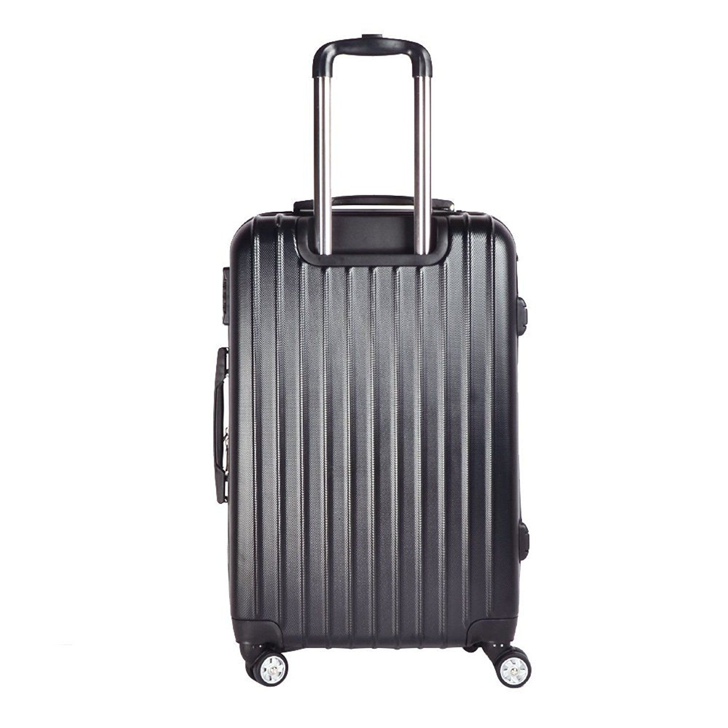 3aeed5d9277a Sunydeal ABS Hard Shell Luggage Trolley Bag Case Super Lightweight 4 ...