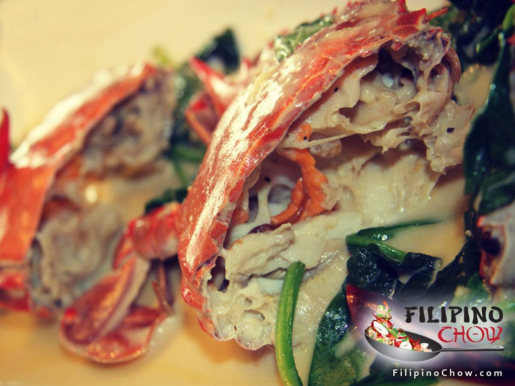 Ginataang Alimasag Crabs In Coconut Milk Filipino Chow S Philippine Food And Asian Recipes To Learn How Recipe Recipes Crab Recipes Coconut Milk Recipes
