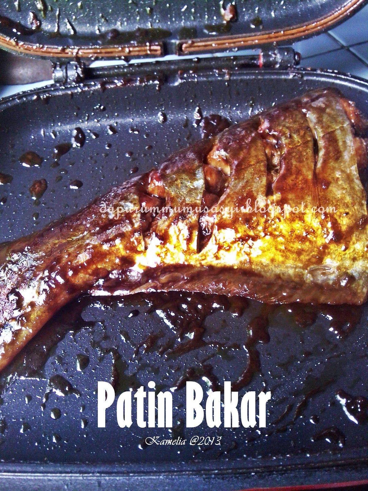 Ikan Patin Yang Dibakar Dengan Double Pan Happy Call Meskipun Ikannya Cukup Tebal Alhamdulillah Matang Sempurna Dan Bumbu Juga Mer Makanan Matang Ikan