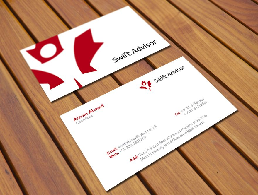 Swift Advisor - Business Card - Business Cards All Kinds of - visiting cards