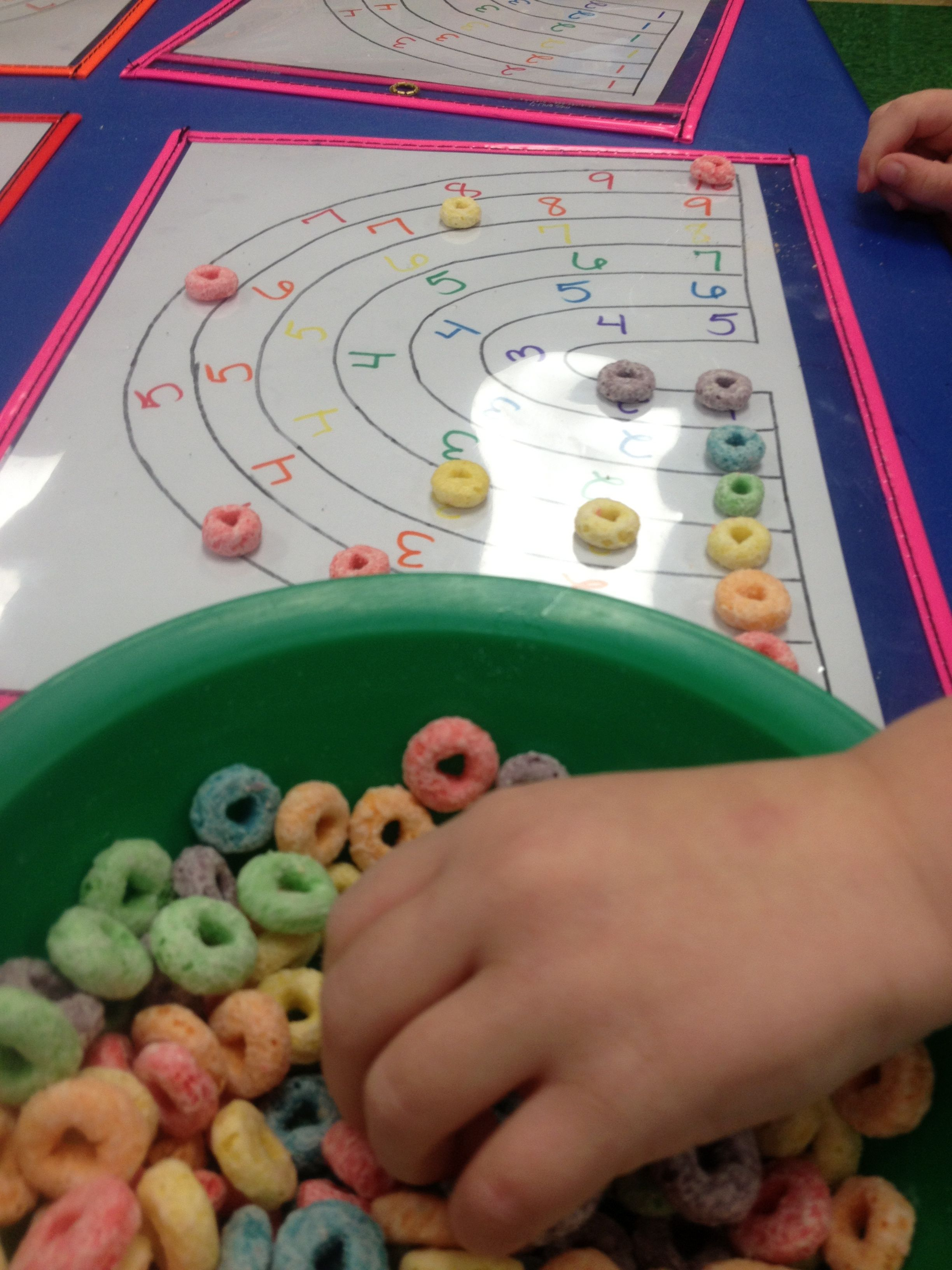 Rainbow Counting Activity. We found a rainbow template/coloring page ...