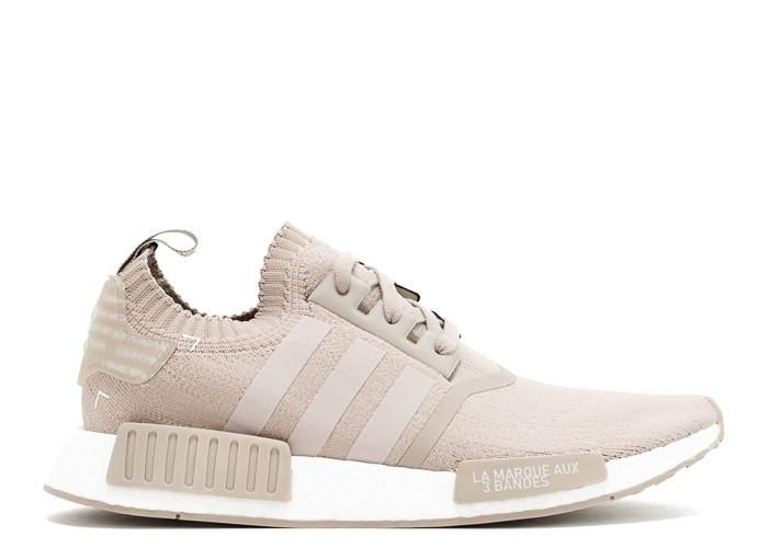 best service b08c5 c1ed3 Adidas NMD R1 PK French Beige Vapour Grey White Sneaker ...