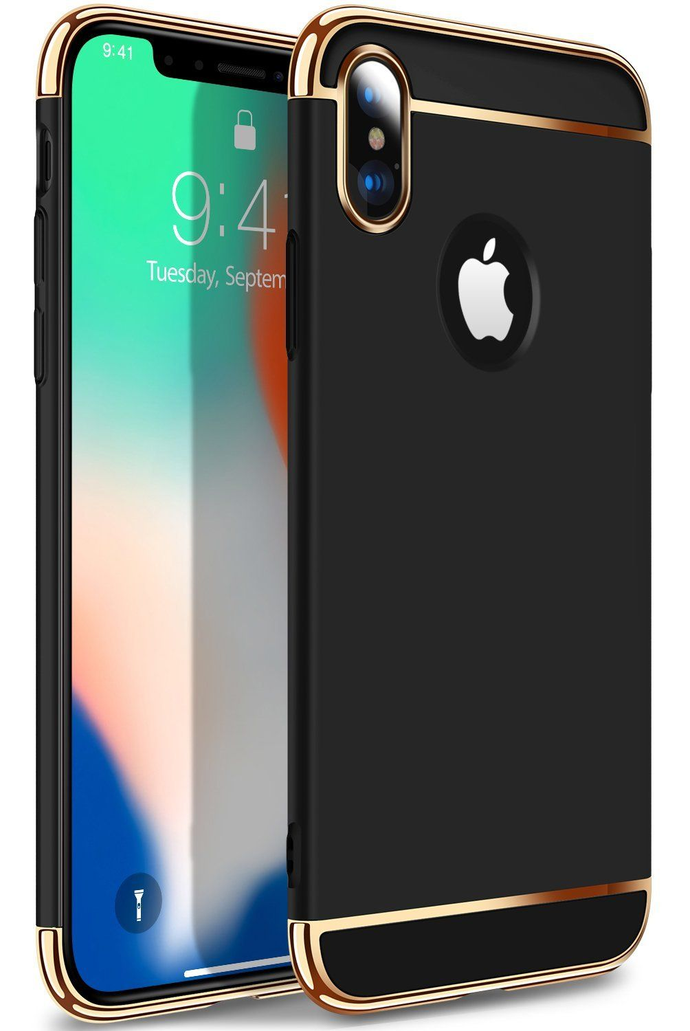 new concept 51dab 2a9de iPhone X Case, iPhone 10 Case, VANMASS 3 in 1 Ultra Thin Slim Fit ...