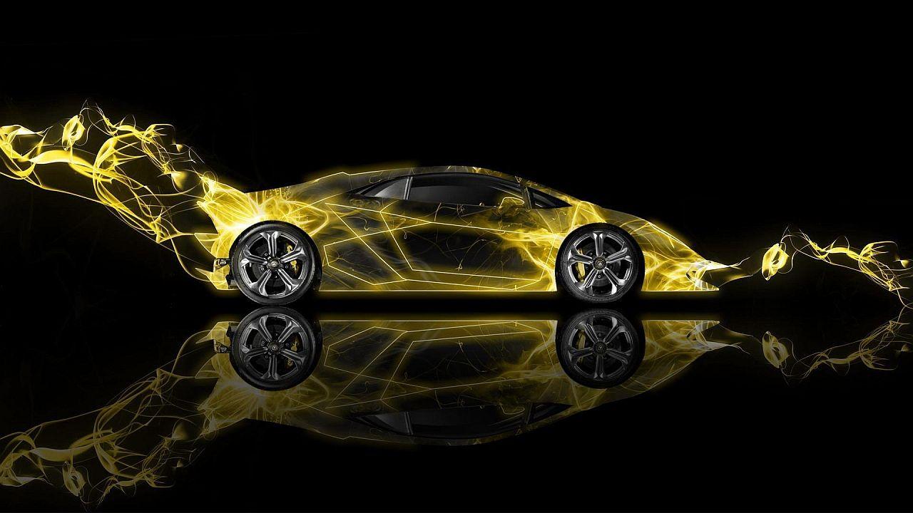 Lamborghini · Lamborghini Sesto Elemento Fire