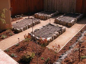 San Rafael Kitchen Garden Eclectic Landscape San Francisco Avant Garden Growing Food Kitchen Table Garden Design