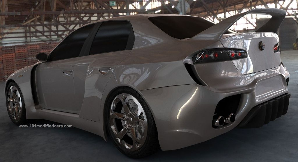 Image Result For Widebody 159 With Images Alfa Romeo 159 Alfa