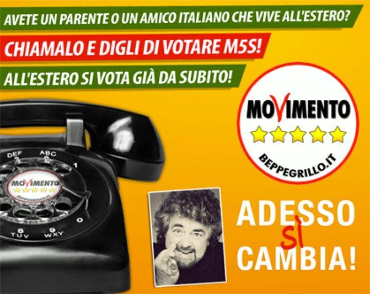 i cittadini italiani residenti all'estero possono gia'votare  via posta .