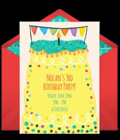 Online invitations from party invitations birthdays and birthday girl birthday filmwisefo Choice Image