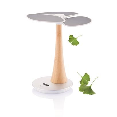 The Ginkgo from XD Design is a astonishing solar charger. Ginkgo comes with a extra large 4.000 mAh rechargeable lithium battery to store your clean energy.