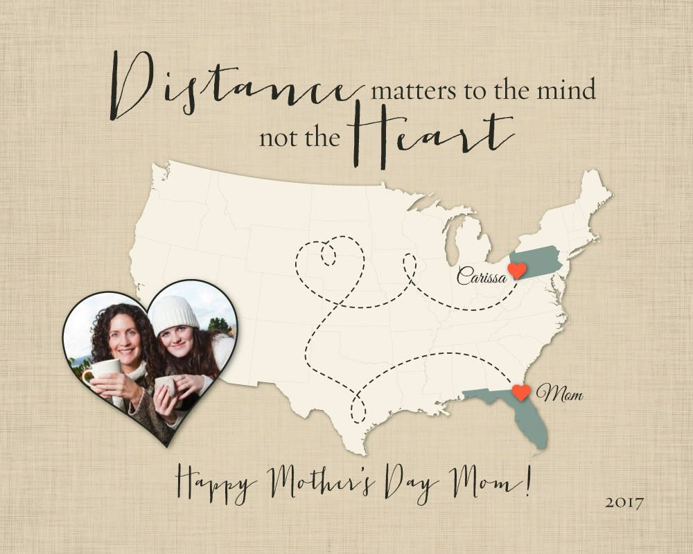 Long Distance Gift for Mom, Mothers Day Gift Idea