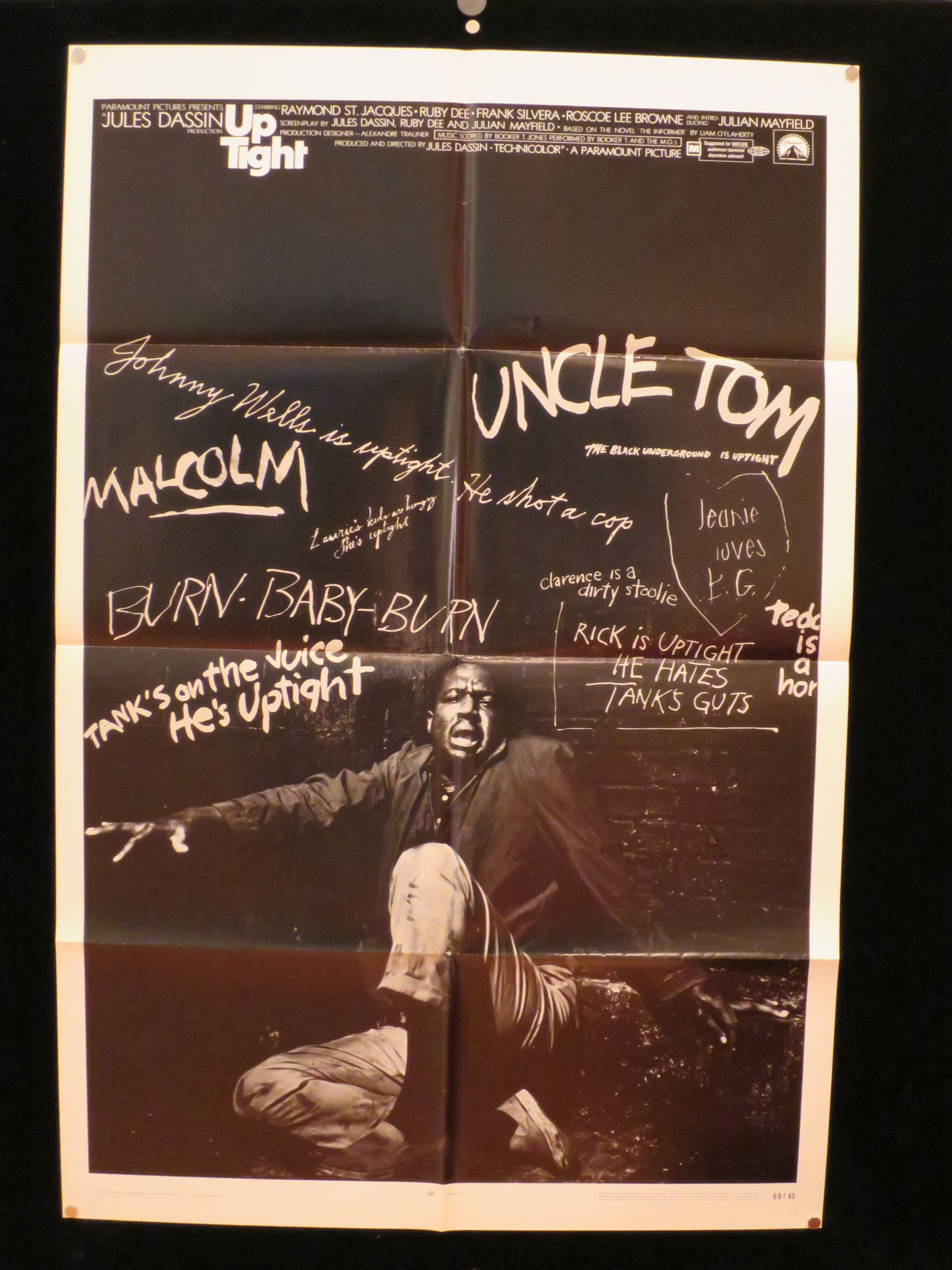 Uptight Is A 1969 American Film About Race Politics By Director