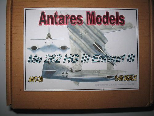 1 48 Scale WWII Luftwaffe Me 262 HG III Model Kit | eBay