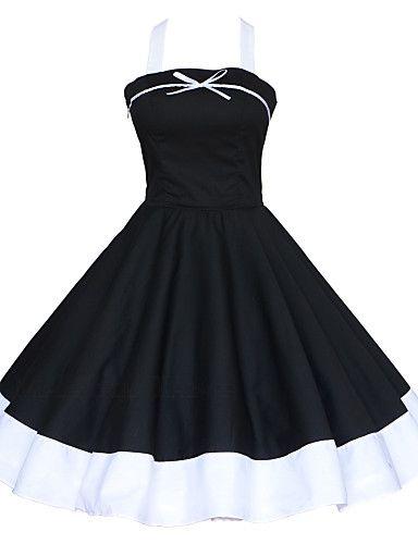 Maggie Tang Women's Halter 50s Vintage Plus Sizes Swing Dress 2934636 2016 – $29.99