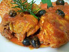 Photo of Stewed chicken (alla cacciatora) – Masly's blog-Chicken in umi …