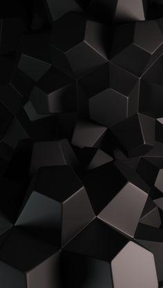Abstract 3d Hexagons Iphone 5 Wallpaper Hexagon Wallpaper 3d Wallpaper For Mobile Abstract Wallpaper