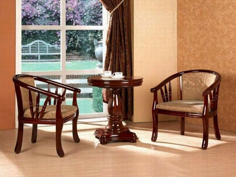 A Comfortable Wooden Chair Providing Good Support For The Spine Suitable For Dining L Wooden Dining Table Designs Dining Table Design Wooden Dining Tables