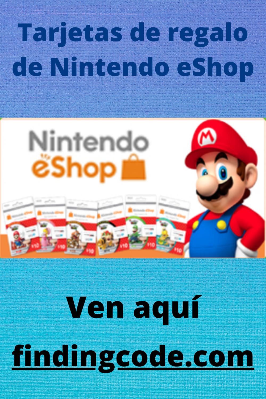 Tarjetas De Regalo De Nintendo Eshop Nintendo Eshop Nintendo Gift Card Generator