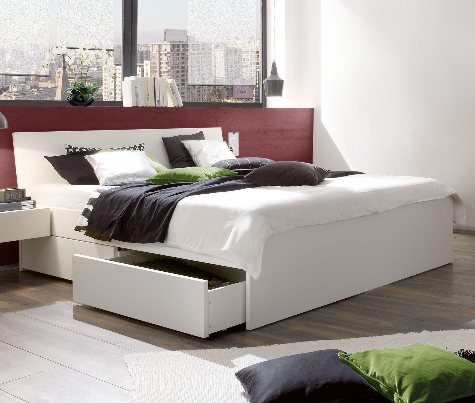Weisses Schubkasten Bett In Ubergrossen Erhaltlich Liverpool Bett Mit Aufbewahrung Bett 160x200 Bett Mit Stauraum