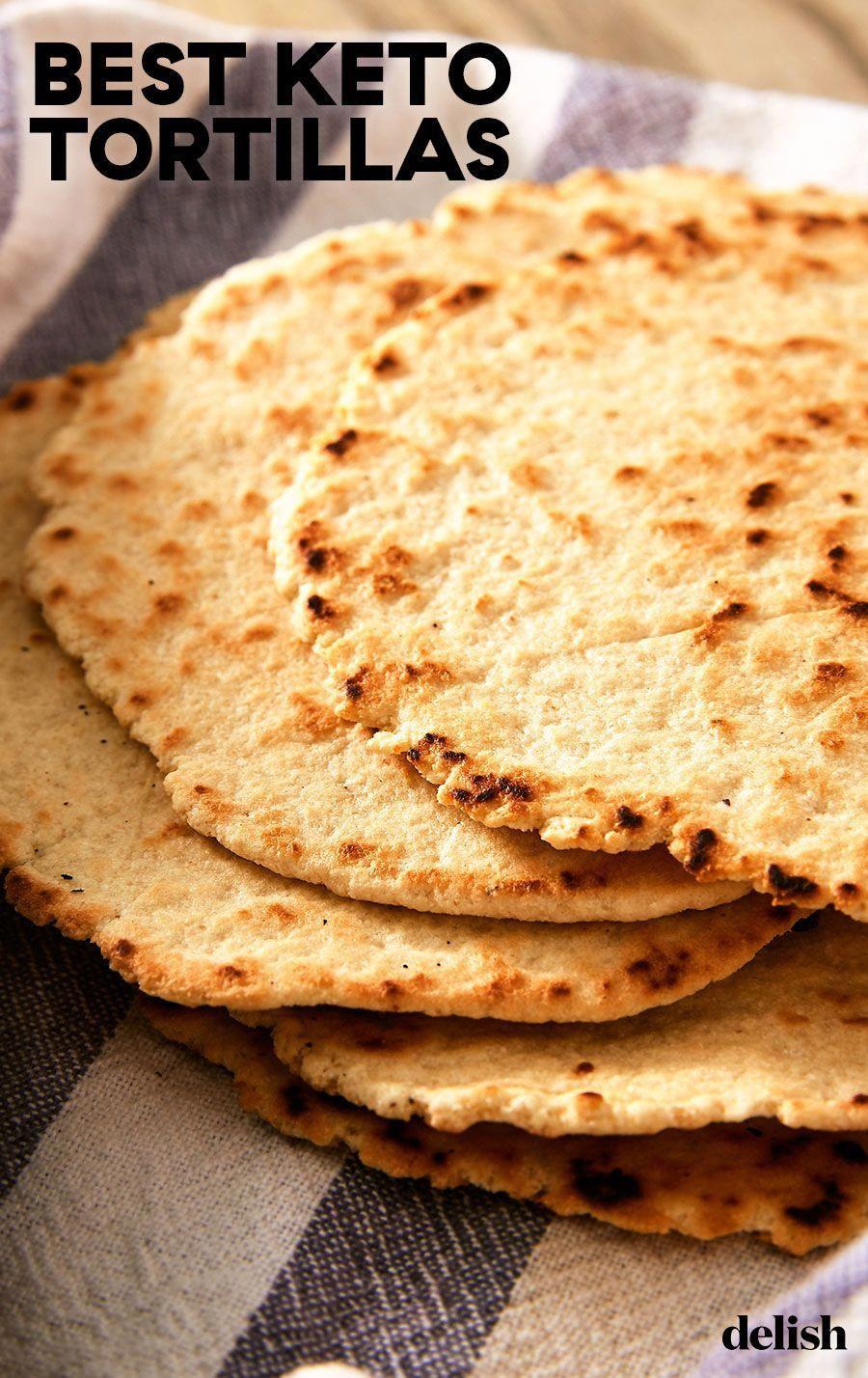 Best-Ever Keto Tortillas in 2020   Low sugar recipes, Keto ...
