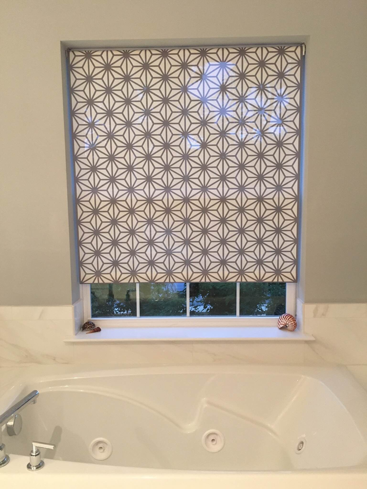 Delia Shades Star Lattice Pattern Get A Free Estimate For Your Own