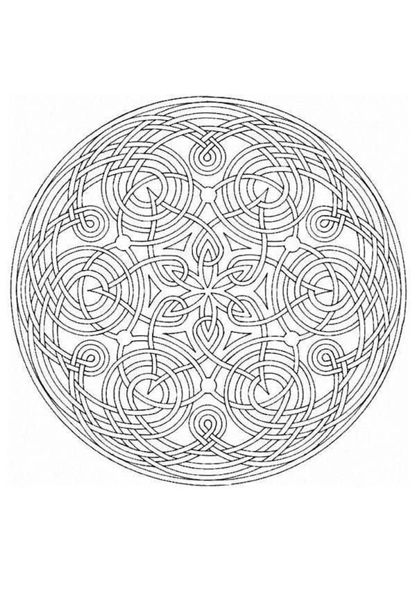 Free Mandala Coloring Pages For Stress Relief And Mindfulness Practice From Hellokids