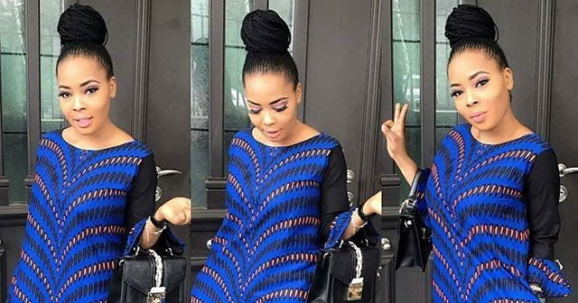 Check Out These Latest A Shape Ankara Short Gowns For Cute Ladies