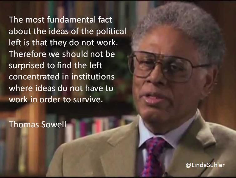 The most fundamental fact about the ideas of the political left is that they do not work... TY~RTs~Follows~Chats