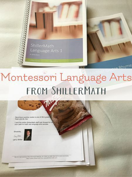 Montessori Based Shillermath Language Arts Kit Language Arts