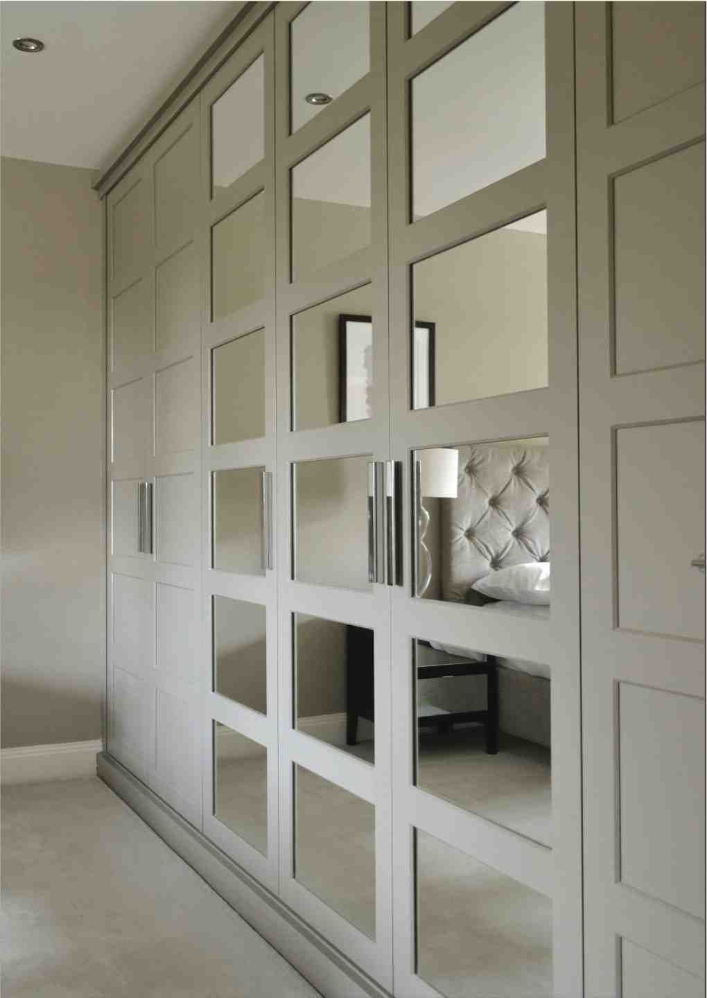 Like The Balance Of Mirrors In The Wardrobe Doors Wardrobe Doors Bedroom Built In Wardrobe Bedroom Furniture Design