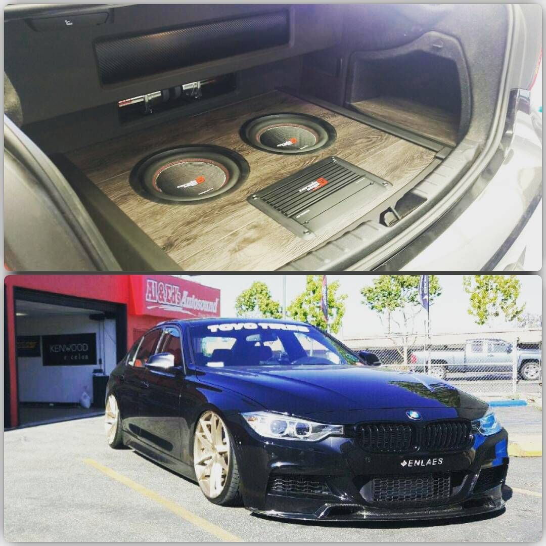 An Awesome Build Inside The Trunk Of A Bmw F30 335 Cool Works By