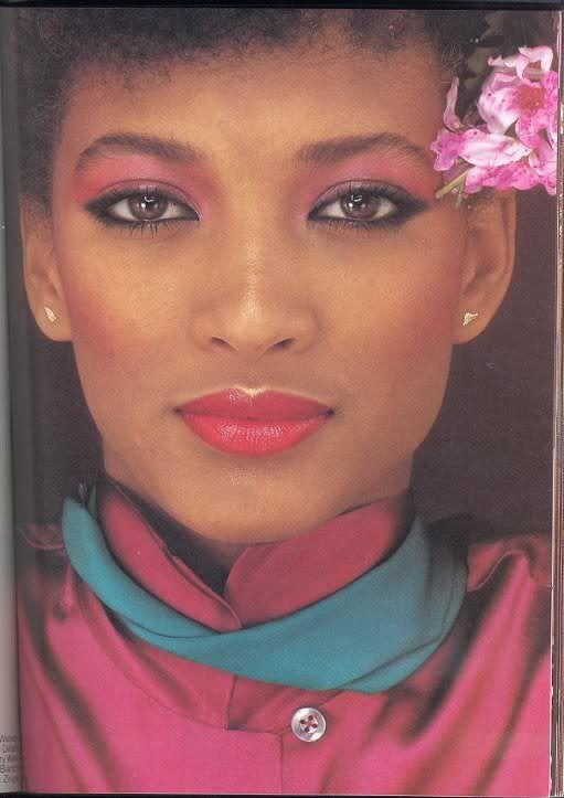 Disco Beauty Sandy Linter Vogue Models Patti Hansen Gia