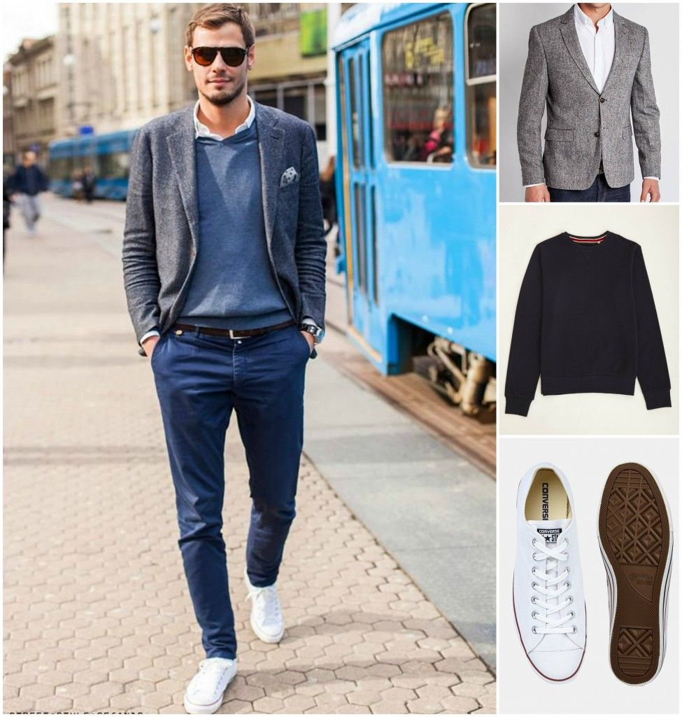 Navy Chinos: 9 Ways to Wear This Summer Favourite | Navy chinos