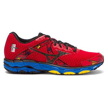 Mizuno Wave� Inspire 10 Chinese Red/Black/Directoire Blue