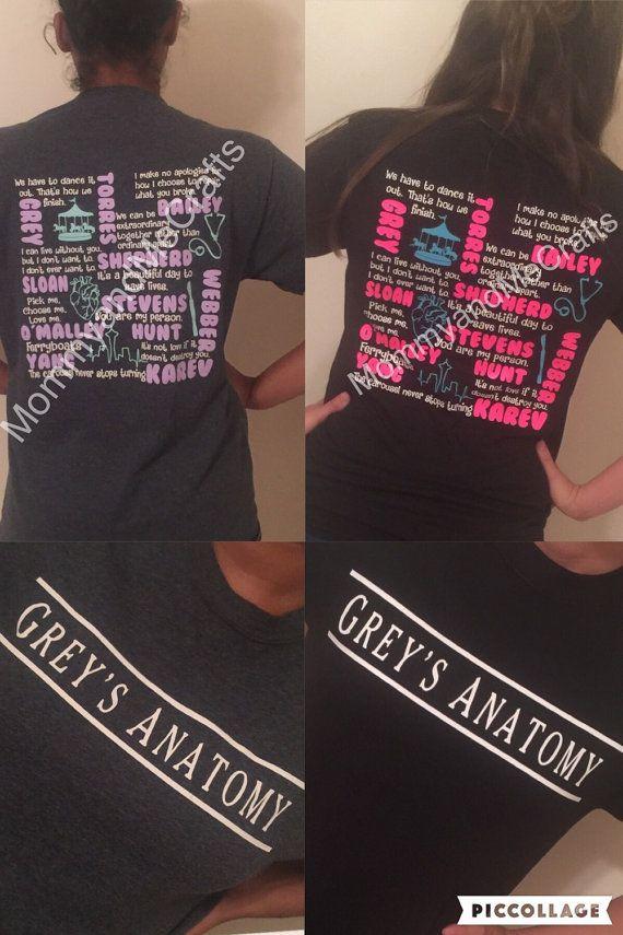 Greys Anatomy T-Shirt | Anatomía